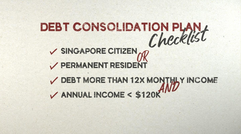 hsbc debt consolidation plan checklist